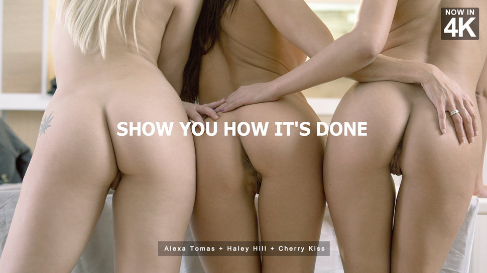StepMomLessons – Show You How Its Done – Alexa Tomas , Cherry Kiss & Haley Hill
